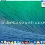 デスクトップアイコンを非表示にする方法(Win&Mac)