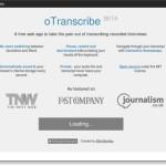 "Webサービス""oTranscribe""とMac用アプリ""Interview""が文字起こしに便利!"
