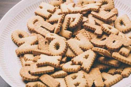 英語のクッキー