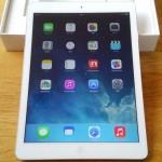 iPad Airが届いた