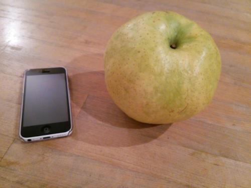 梨とiPhone5C