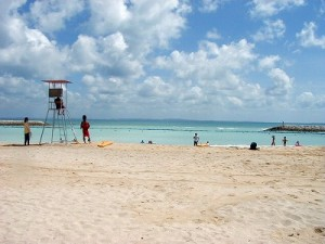 夏のビーチ