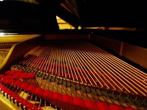 ピアノの中身