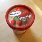 ハーゲンダッツ話題の新商品スプーンベジを食べてみた