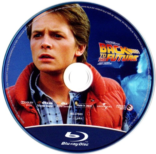 Blu-ray バック・トゥ・ザ・フューチャー DISC1
