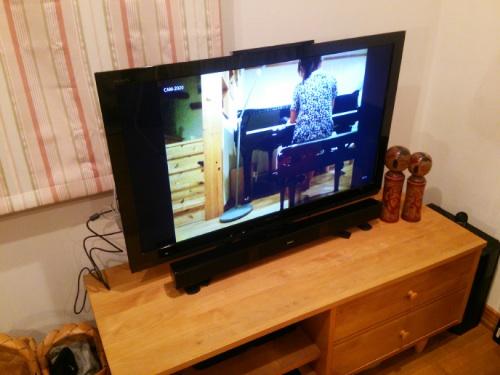 カメラ画像(テレビ)
