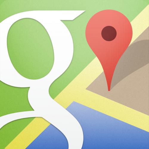 google mapのアイコン