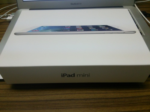 iPad mini Retina箱