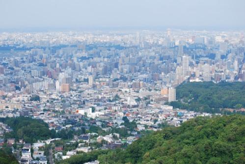 札幌の眺望