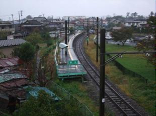 在りし日の東名駅